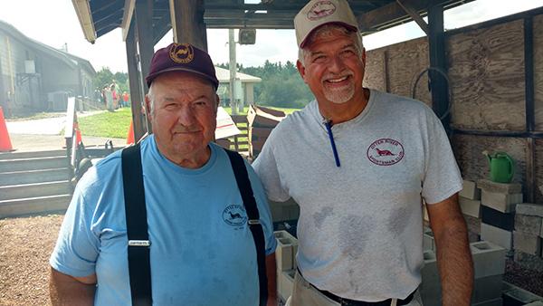 John Whipple and Mike Nobrega